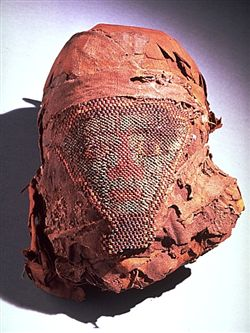 The Global Egyptian Museum Mummy Head And Bead Mask
