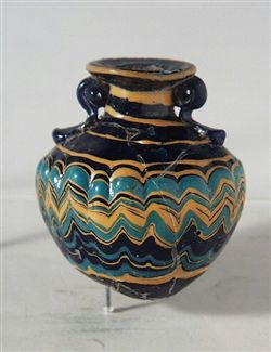 Egyptian Core Formed Glass